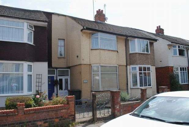 3 Bedrooms Terraced House for sale in Harborough Road, Kingsthorpe, Northampton NN2 8DW