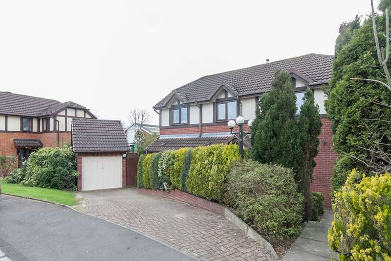 3 Bedrooms Detached House for sale in Avonhead Close, Horwich, Bolton, Lancashire, BL6