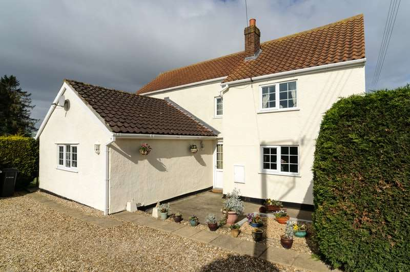4 Bedrooms Detached House for sale in Eaudyke, Boston, Lincolnshire, PE22