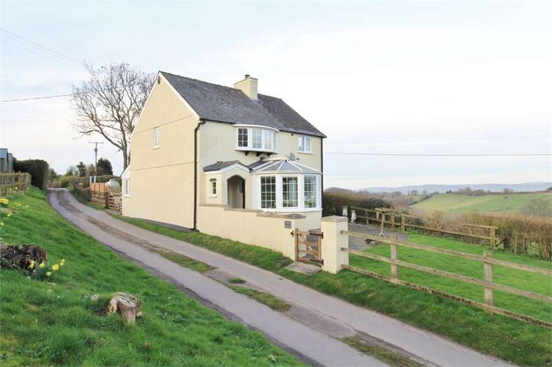 3 Bedrooms Detached House for sale in Llangeview, Usk, NP15