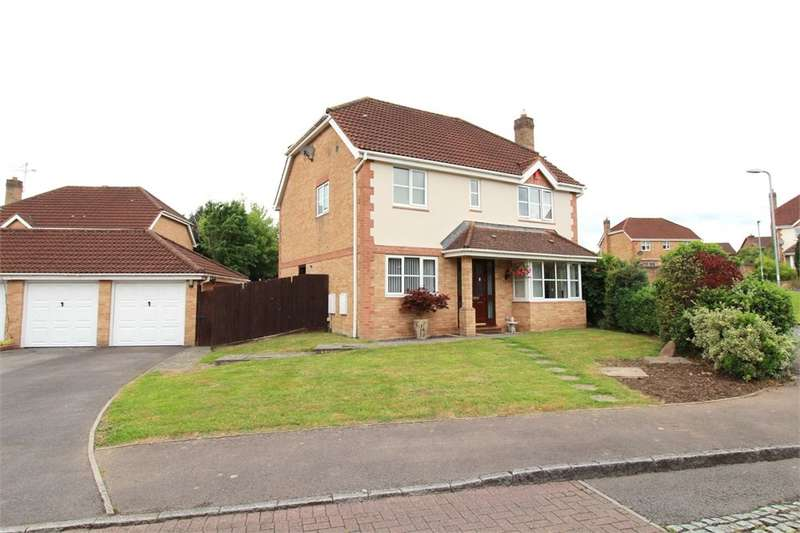 4 Bedrooms Detached House for sale in Candwr Park, Ponthir, Newport, NP18