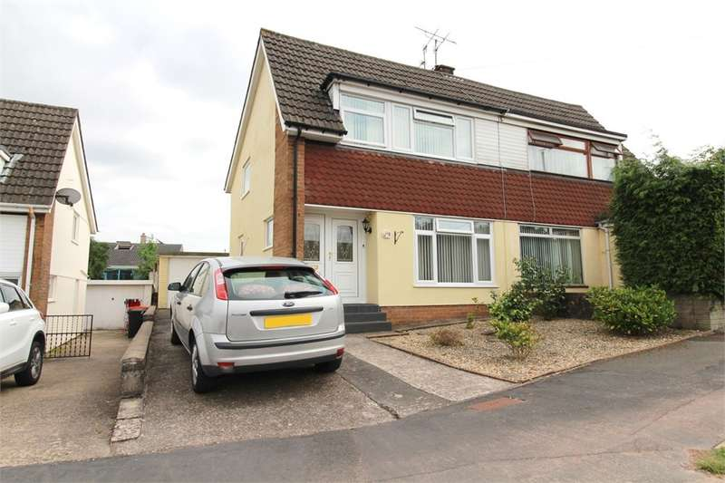 3 Bedrooms Semi Detached House for sale in Northfield Close, Caerleon, Newport, NP18