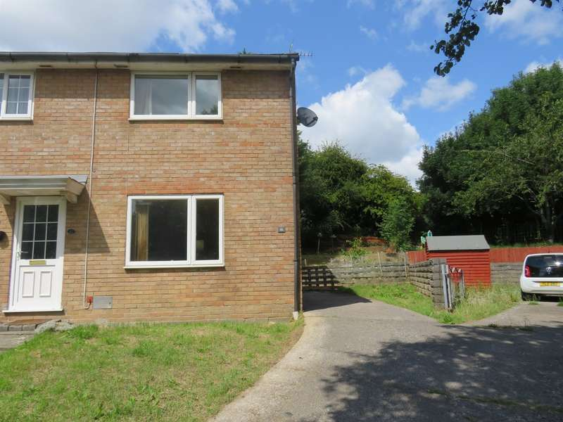 2 Bedrooms End Of Terrace House for sale in Hedgemoor, Brackla, Bridgend