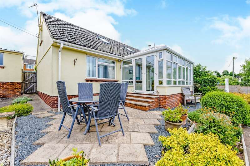 4 Bedrooms Detached Bungalow for sale in Fifth Avenue, Greytree, Ross-On-Wye