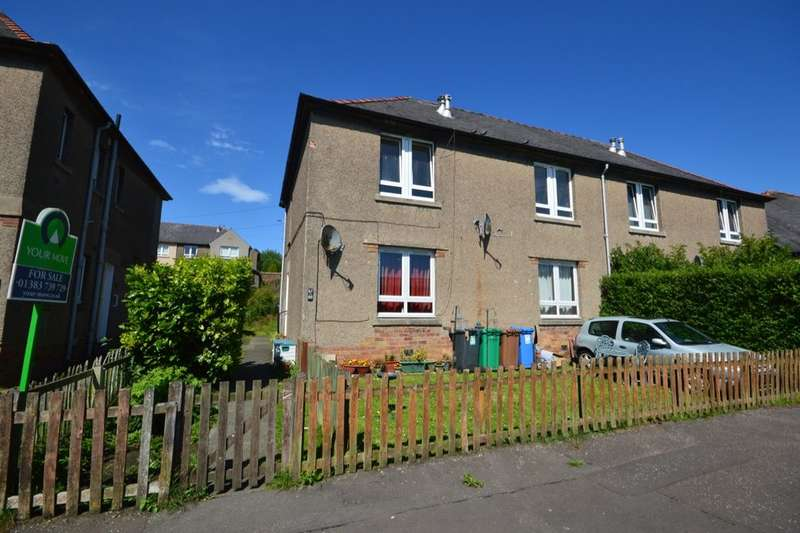 2 Bedrooms Flat for sale in Burns Street, Dunfermline, KY12