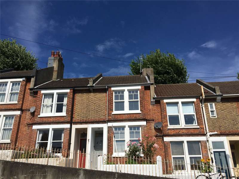 2 Bedrooms Terraced House for sale in Kingsley Road, Brighton, East Sussex, BN1