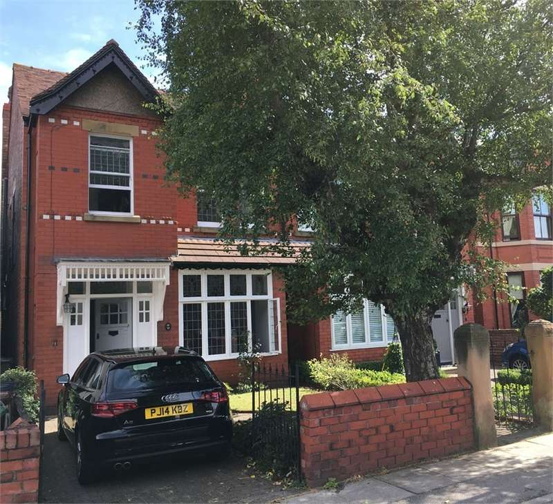 4 Bedrooms Semi Detached House for sale in Queens Road, Crosby, Merseyside