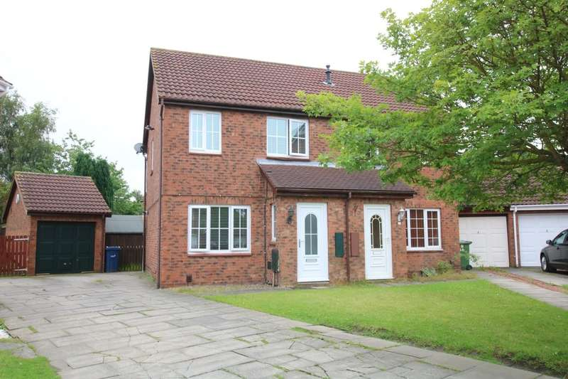 3 Bedrooms Semi Detached House for sale in Cairngorm Avenue, Washington, NE38
