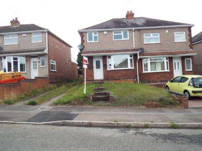 3 Bedrooms Semi Detached House for sale in Edward Road, Keresley, Coventry, West Midlands