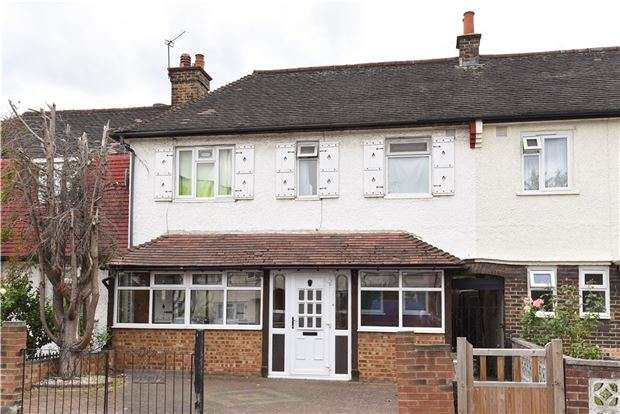 3 Bedrooms Property for sale in Effingham Road, CROYDON, CR0