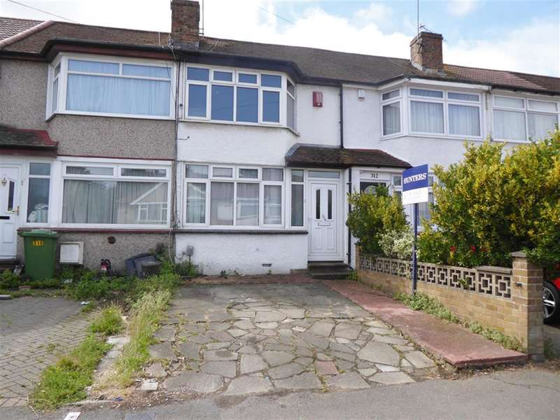 2 Bedrooms Terraced House for sale in Parkside Avenue, Barnehurst, Kent, DA7 6NU