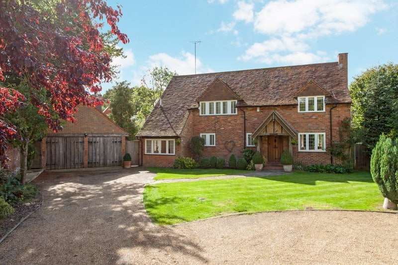 4 Bedrooms Detached House for sale in Prospect Place, Hurley, Berkshire, SL6