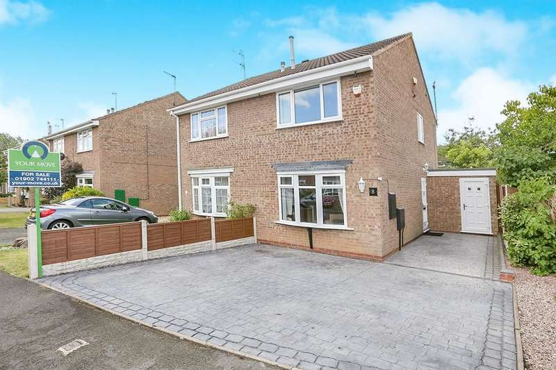 3 Bedrooms Semi Detached House for sale in Livingstone Avenue, Perton, Wolverhampton, WV6