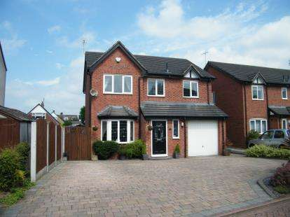 4 Bedrooms Detached House for sale in Limes Close, Haslington, Crewe, Cheshire