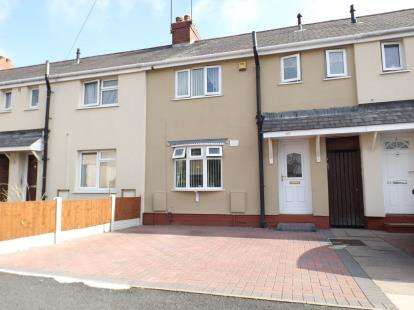 3 Bedrooms Terraced House for sale in Brook Road, Willenhall, West Midlands