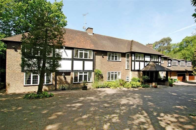 5 Bedrooms Detached House for sale in Granville Road, Weybridge, Surrey, KT13