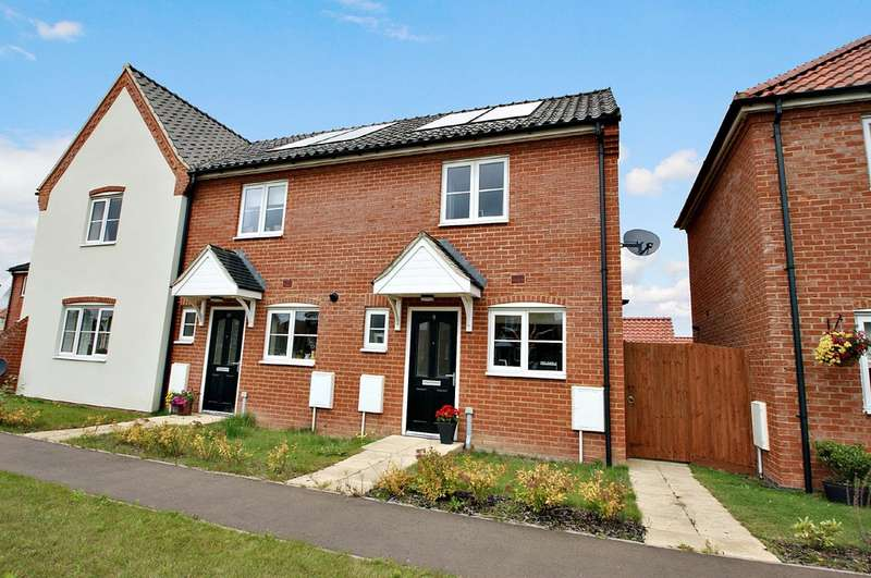 2 Bedrooms End Of Terrace House for sale in Salhouse Road, Hoveton