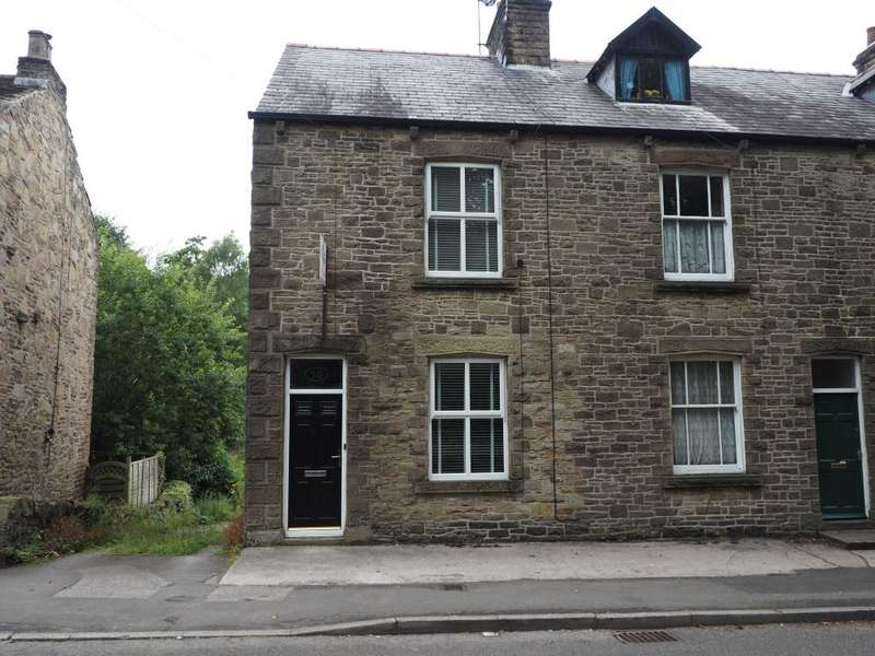 3 Bedrooms Terraced House for sale in Macclesfield Road, Whaley Bridge, High Peak, Derbyshire, SK23 7DG