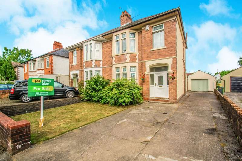 3 Bedrooms Semi Detached House for sale in Pantmawr Road, Cardiff