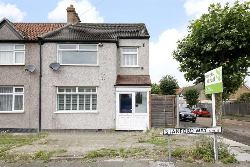 3 Bedrooms End Of Terrace House for sale in Stanford Way, London