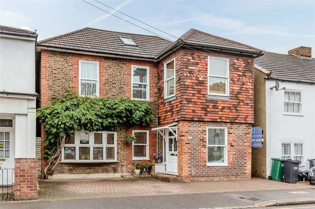5 Bedrooms Detached House for sale in Holmesdale Road, Reigate, Surrey