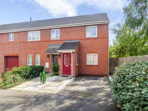 2 Bedrooms Flat for sale in Bateman Close, Crewe, Cheshire