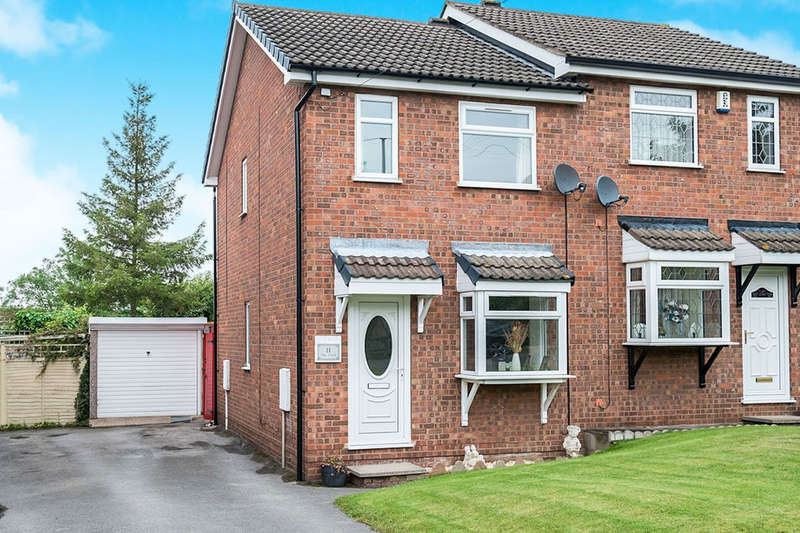 2 Bedrooms Semi Detached House for sale in The Croft, RETFORD, DN22