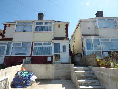 2 Bedrooms Semi Detached House for sale in Plymouth, Devon