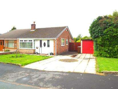 2 Bedrooms Bungalow for sale in Wensley Road, Lowton, Warrington, Cheshire