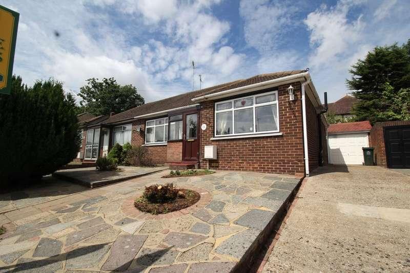 2 Bedrooms Semi Detached Bungalow for sale in Squires Way, Joydens Wood , Bexley, DA2