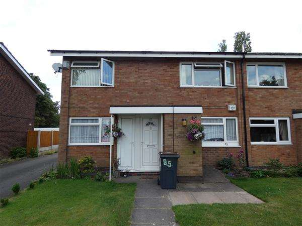 2 Bedrooms Maisonette Flat for sale in Selby Close, Yardley, Birmingham