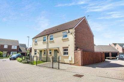 3 Bedrooms Semi Detached House for sale in Wainfleet Avenue, Kingsway, Quedgeley, Gloucestershire