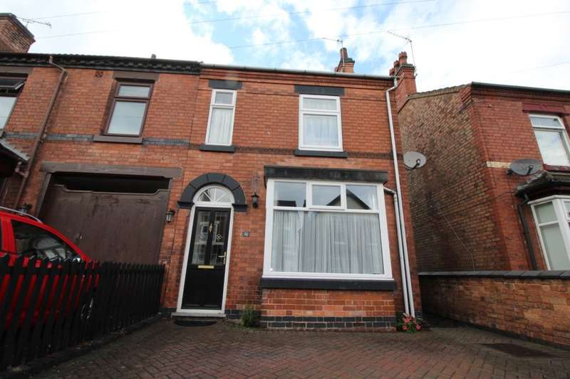 3 Bedrooms Semi Detached House for sale in Outwoods Street, Burton-On-Trent, DE14