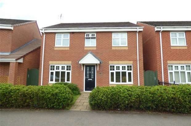 4 Bedrooms Detached House for sale in Walsingham Drive, Bermuda Park, Nuneaton, Warwickshire