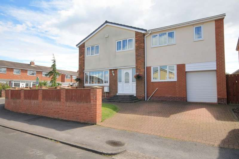 4 Bedrooms Semi Detached House for sale in Ardrossan, Ouston, Chester Le Street, DH2