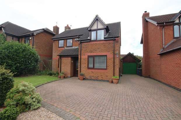 3 Bedrooms Detached House for sale in Statfold Lane, Fradley, Lichfield, Staffordshire