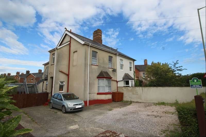 1 Bedroom Flat for sale in Decoy Road, Newton Abbot, TQ12