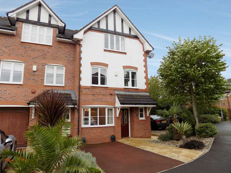 3 Bedrooms Town House for sale in Spires Gardens, Winwick, Warrington, WA2