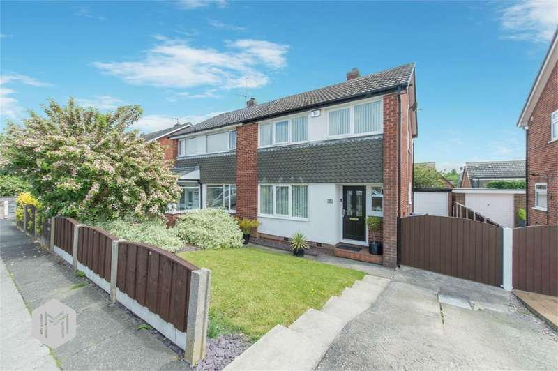 3 Bedrooms Semi Detached House for sale in Alcester Close, Bury, BL8