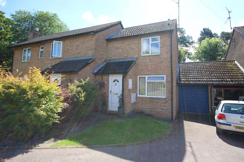 2 Bedrooms Semi Detached House for sale in Alington Close, Finedon, Wellingborough, Northamptonshire. NN9 5DF