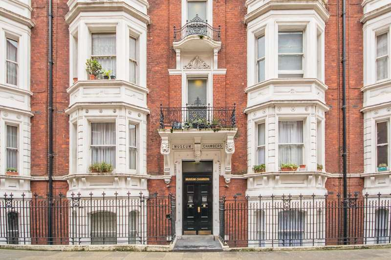3 Bedrooms Flat for sale in Museum Chambers, Bloomsbury, WC1A