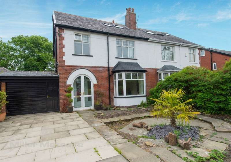 5 Bedrooms Semi Detached House for sale in Sherbourne Road, Heaton, Bolton, BL1