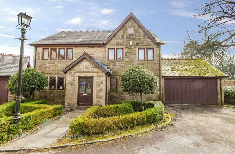 4 Bedrooms Detached House for sale in Summer Hill Close, Sharples, Bolton, BL1