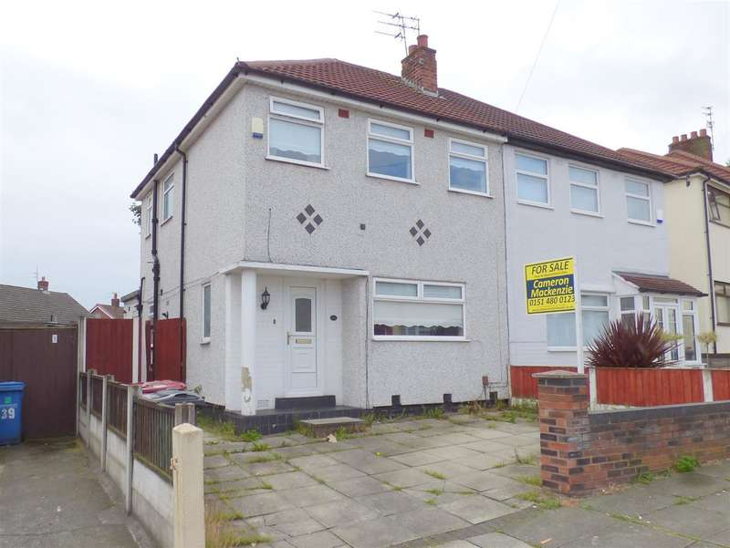 3 Bedrooms Semi Detached House for sale in Coronation Drive, Broadgreen, Liverpool