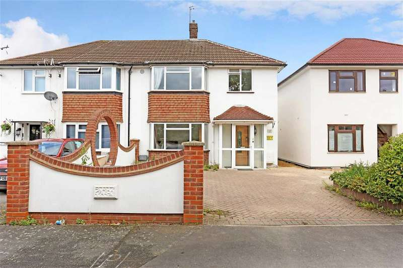 3 Bedrooms Semi Detached House for sale in Rutters Close, West Drayton