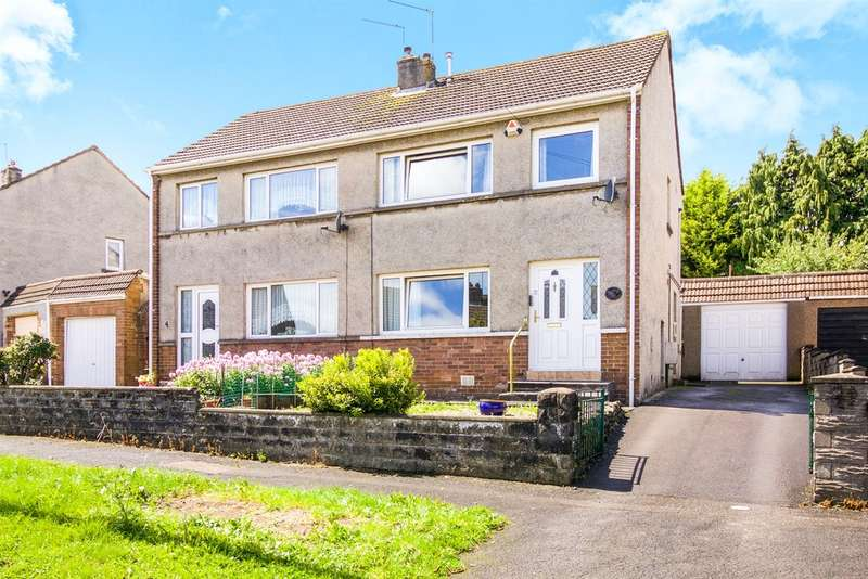 3 Bedrooms Semi Detached House for sale in Kipling Gardens, Bridgend
