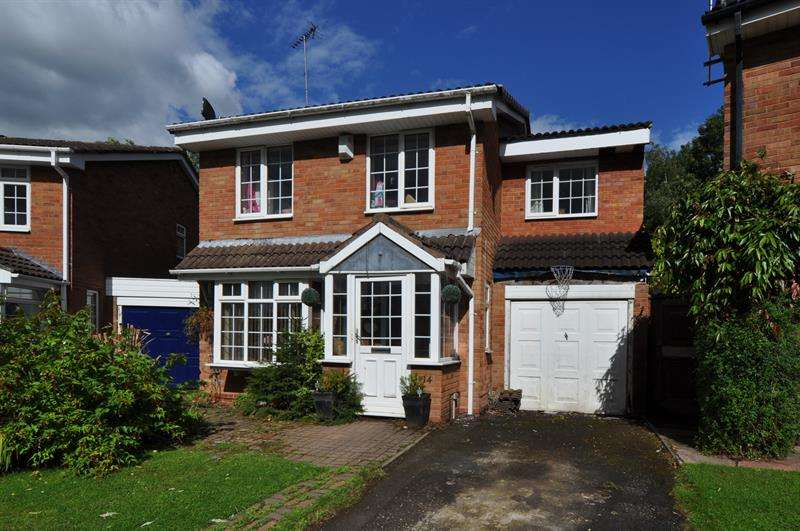 4 Bedrooms Detached House for sale in Snowshill Close, Church Hill North, Redditch