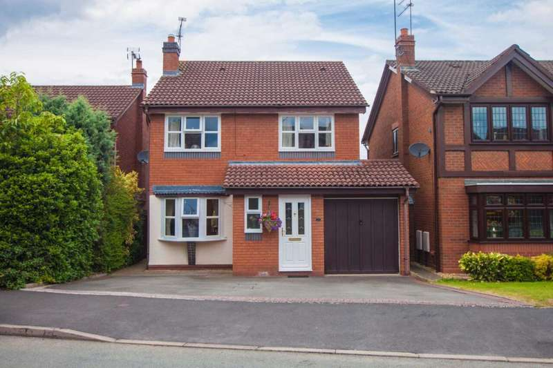 4 Bedrooms Detached House for sale in Penleigh Gardens, Wombourne