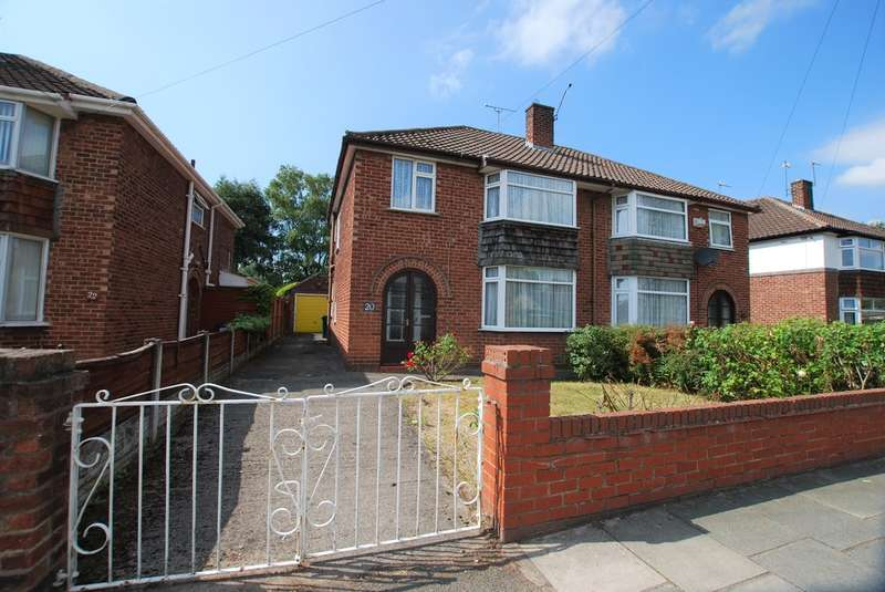 3 Bedrooms Semi Detached House for sale in Western Avenue, Blacon, Chester