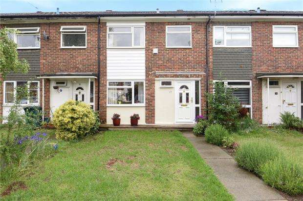 3 Bedrooms Terraced House for sale in Garrick Close, Staines-upon-Thames, Surrey